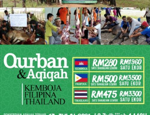 QURBAN KEMBOJA, FILIPINA, THAILAND & MYANMAR 2021